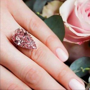 Wedding crystal Zircon Cubic elegant Female Ring